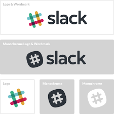 How to Create a Remarkable Logo Design // Slack Brand Guidelines on ...