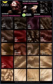 Olia Hair Color Chart Even Though Spring Summer Are Coming Im Thinking Of Going