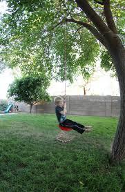 Tree Swing Simple Diy Tree Swing