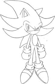 Super Sonic The Hedgehog Coloring Pages At Getdrawingscom Free