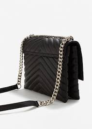 Mango Quilted Chain Bag in Black | Lyst & Mango | Black Quilted Chain Bag | Lyst. View Fullscreen Adamdwight.com