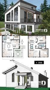 Cottage Design Plans Ski Or Mountain Cottage Plan With Walkout Basement Large