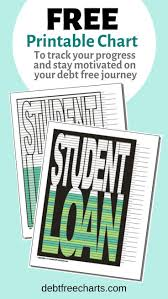 Student Loan Debt Free Charts Student Loans Student