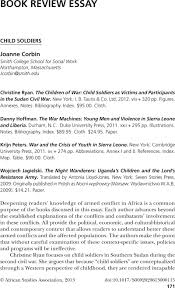 child iers essay photo essay the life of a child under  child iers ryanchristine the children of war child copyright