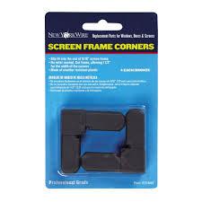 screen frame corners 4 pack