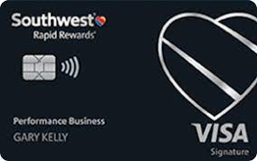 At a glance earn reward flights with no blackout dates. Southwest Rapid Rewards Performance Business Credit Card Chase