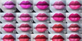 Revlon Lipstick Shades Chart This Epic Chart Of 97 Lipsticks Will Make Finding Your New