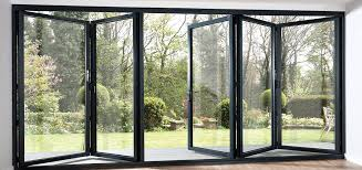 tri fold windows timber sliding folding doors home decor in 2019 folding