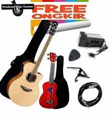 yamaha ukulele. gitar yamaha apx 500ii bonus ukulele ( , 500i, akustik