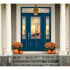 painting a fiberglass door 3 4 lite smooth fiberglass entry door unit in eclipse painting fiberglass