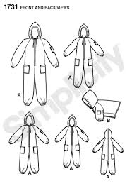 Adult Onesie Pattern Inspiration 48 Simplicity Pattern Child S Teens Adults Fleece Onesie