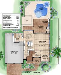 Plan 15035NC Narrow Lot Beach House Plan  Kitchens Beach And HouseBeach Cottage Floor Plans