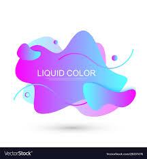 Graphic Design Shapes Modern Graphic Design Elements In Shape Fluid