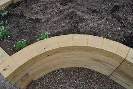 raised garden beds dirt simple wood