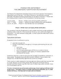 Dispatcher Resume Format Resume Cover Letter Example