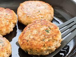 a very simple salmon burger recipe