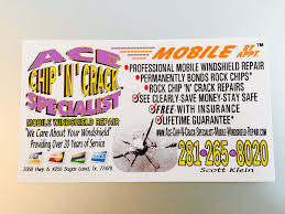 ace chip n specialist mobile windshield repair 56 reviews windshield installation repair 3350 hwy 6 sugar land tx phone number last