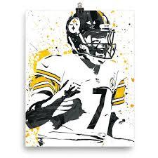 Pittsburgh Poster Roethlisberger Ben Steelers