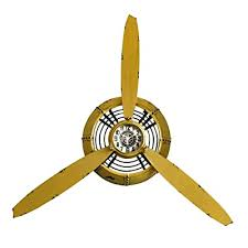 airplane propeller wall decor large