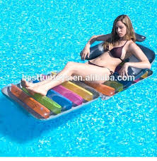 inflatable pool furniture. Inflatable Pool Chair Swimming Lounge Chairs Plastic Beach Summer Mat . Furniture