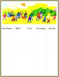 Sunday School Chart Ideas Attendance Chart Ideas For Sunday School Sunday School