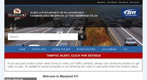 Access Traffic Md Gov Chart Coordinated Highways Action