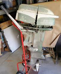 johnson seahorse outboard engines components parting out 1955 johnson sea horse 25 hp ob boat motor rd 17 s