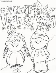 Small Picture Thanksgiving Coloring Pages Doodle Art Alley