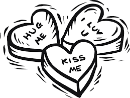 happy valentine s day clip art black and white. Valentines Day Coloring Pages Cute Love And Funny Wallpapers For Happy Valentine Clip Art Black White