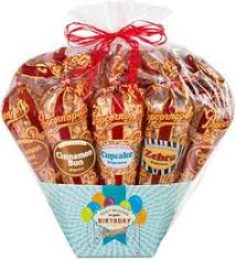 birthday 12 cone gift basket here s the holy grail of birthday gift best popcornflavored popcorngourmet
