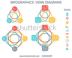 four circle venn diagram venn diagram vector download free vector art stock graphics images