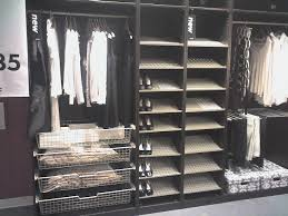 Wardrobes  Ikea Pax Wardrobe Shoe Rack Skubb Clothes And Shoe Ikea Closet Organizer Hanging