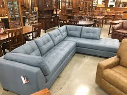 top grain leather sectionals solid wood frames usa furniture and leather your amish connection