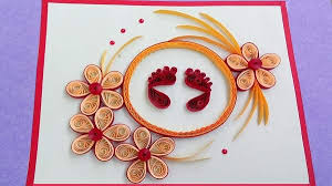 How To Make Diwali Greeting Card Deepawali Handmade