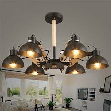 chandeliers led mini style modern contemporary living room dining room study room office game room metal