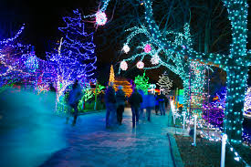 idaho botanical garden s annual event winter garden aglow features over 380 000 lights that creates