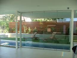 glass bifold doors. Beautiful House Design Using Glass Bifold Doors: Clear Doors For Elegant Interior Door