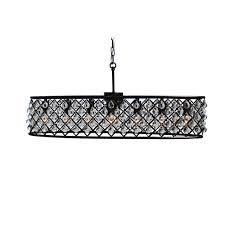 cassiel 30 inch oval crystal chandelier free today com 9726399