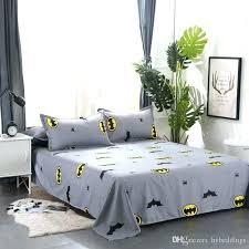 king bed sheets batman bed set queen size cartoon batman duvet cover grey bedding set kids bedding single double queen king size bed sheets home improvement