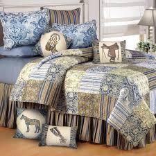cowboy paisley quilted bedding designs