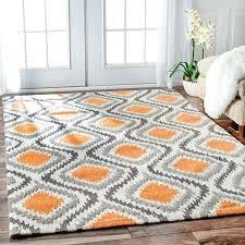 orange and grey area rugs rugs on grey and orange area rug