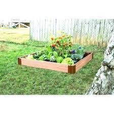 cedar mulch home depot raised garden beds boxes at bed kits kit medium cedar chips