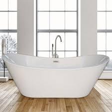 Stand alone tub faucet Bathroom Ideas 67 Wayfair Freestanding Tub With Faucet Wayfair