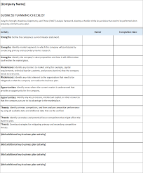checklist in excel business plan checklist excel business insights group ag