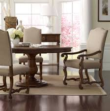 Pedestal Dining Table Set 5 Piece Keton Round Pedestal Dining Table Set One 16 Inch Leaf