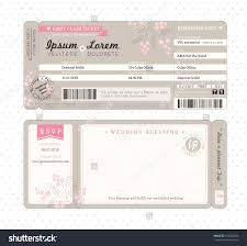 Fake Ticket Template Airline Ticket Invitation Template Free 24 Printable Fake Airline 20