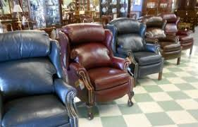 Bradington Young Chippendale Leather Recliners