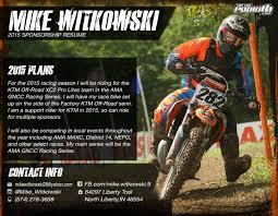 Motocross Sponsorship Resume] Sponsorship Resume Samples, Fusion .