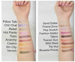 new 2016 makeup geek eyeshadows swatches