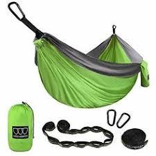 AnorTrek <b>Camping Hammock</b>, <b>Lightweight Portable</b> Single & Double ...